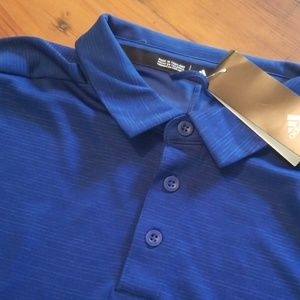 New Men's L Adidas Golf Polo